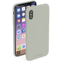 Krusell Sandby Cover in Sand - for iPhone X