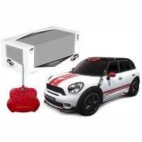 Remote control Mini Countryman 1:24 in white