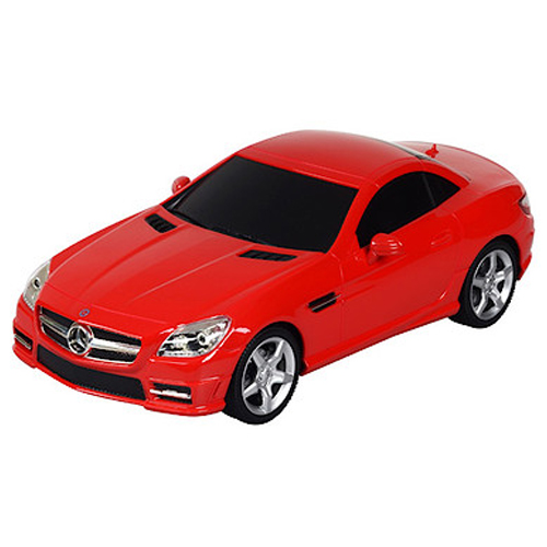 Remote control mercedes benz slk 350 1 24 in red for Remote control mercedes benz