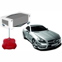 Remote control Mercedes-Benz SLK 350 1:24 in silver