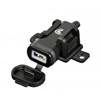 Lampa Motorbike USB With Screw Fixing Bracket & Din Plug 2400mAh