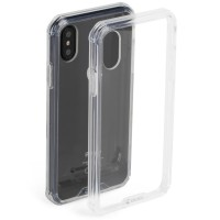 Krusell Kivik Pro Cover Transparent Case - for iPhone X