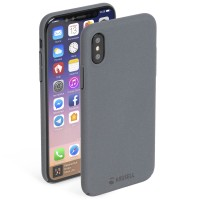 Krusell Sandby Cover in Dark Grey - for iPhone X