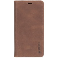 Krusell Sunne 4 Card Folio Case For iPhoneX In Brown