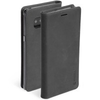 Krusell Sunne 4 Card FolioWallet in Black - For Samsung Note 8
