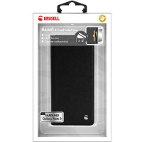 Krusell Malmo 4 Folio Case For Samsung Note8 In Black