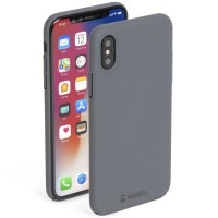 Krusell Sandby Cover in Dark Grey - for iPhone X/Xs
