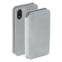 Krusell Brody 4 Card SlimWallet Case For iPhoneXR In Grey