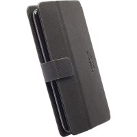 Krusell Malmö FlipWallet Slide Case 5XL in Black - Fits iPhone7
