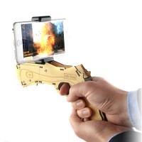 Augmented (AR) Reality Toy Gun With Phone Holder & App