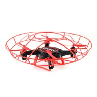 Kurio Aura Gesturebotics Gesture-controlled Flying Robotic Drone - Red/Black