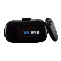 Bitmore Eye Virtual Reality Headset With BT Remote In Black
