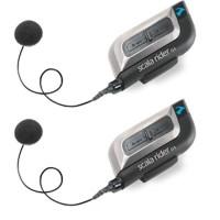 Cardo Scala Rider G4 PowerSet motorcycle Bluetooth helmet handsfree - cord mic