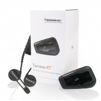 Terrano XT BT Cycling Headset Intercom for Music, Audio Sharing and Calls