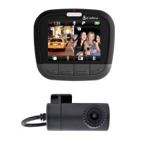 Cobra CDR 895 D Dash Cam - 1080p Full HD with Dual Cameras