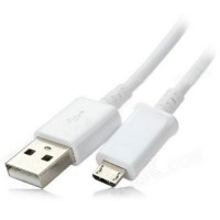Genuine Samsung 1.0m Micro USB data cable in white - bulk