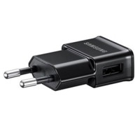 Genuine Samsung USB euro mains charger 2A in black
