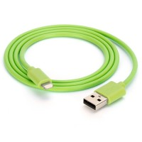 Griffin MFI Lightning USB data cable in green 1M