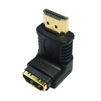 Pama HDMI right angled adaptor male to female