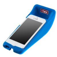 Vibe slick cheese speaker for iPhone5 - blue