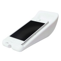 Vibe slick cheese speaker for iPhone5 - white