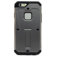 Pama Armour case for iPhone6 in grey/black with stand