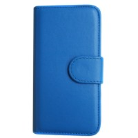 Pama hard frame wallet case for iPhone6 in blue