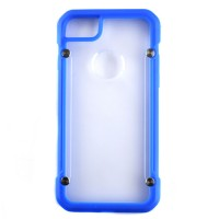 Pama Armour case 12 for iPhone7 in blue/transparent