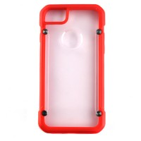 Pama Armour case 12 for iPhone7 in red/transparent