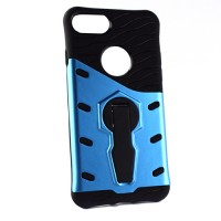 Pama Armour case 10 for iPhone7 In blue/black with stand