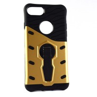 Pama Armour case 10 for iPhone7 In gold/black with stand