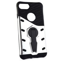 Pama Armour case 10 for iPhone7 in silver/black with stand