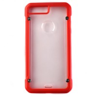Pama Armour case 12 for iPhone7 Plus in red/transparent