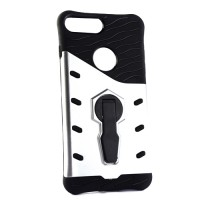 Pama Armour case 10 for iPhone7 Plus in silver/black with stand