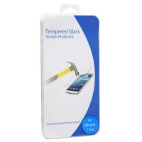 Pama clear tempered glass screen protector For iPhone7 plus - 1 per pack