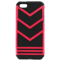 Pama Armour chevron case for iPhone SE in red