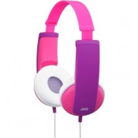 JVC HA-KD5-P kids headphone with volume limiter in pink/violet