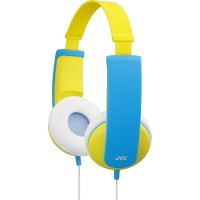 JVC HA-KD5-Y kids headphone with volume limiter in yellow/blue