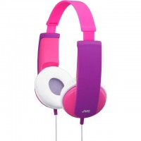 JVC HA-KD5-P Kids Headphones with Volume Limiter in Pink/Violet
