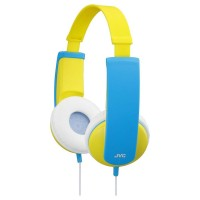 JVC HA-KD5-Y Kids Headphones with Volume Limiter in Yellow/Blue