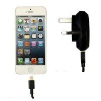 Pama mains travel charger to suit iPhone5 - MFi approved 1A