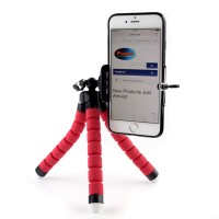 Pama Mini Phone Tripod In Red