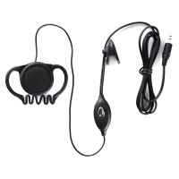 Pama Earpiece to Microphone - For use with Cobra PMR Walkie Talkie Radios