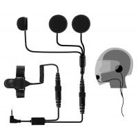 Pama Motorbike Helmet Speaker & Microphone System - for Cobra PMR's
