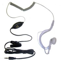 Pama covert earhook and mic with push to talk for Cobra MT600 MT800 radios