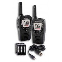 Cobra MT645 walkie talkie radio twin pack with batteries