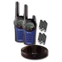 Cobra MT975 walkie talkie radio twin pack with batteries and charger euro plug