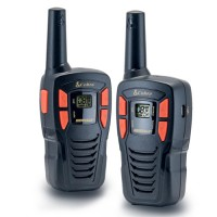 Cobra AM245 walkie talkie radio twin pack with batteries and USB charger