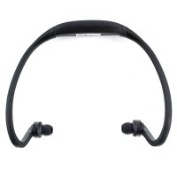 Pama Plug N Go 265 Bluetooth Sports Headset with Microphone and Remote in Black