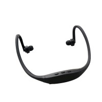 Pama Plug N Go 265 - Bluetooth sports neckband and headset with microphone and remote - black